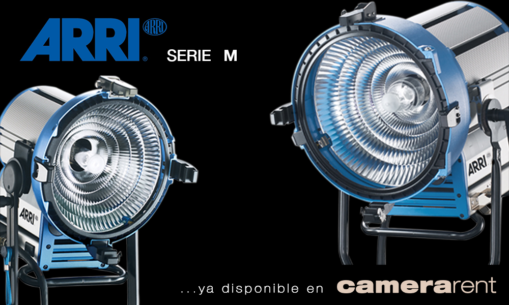 ARRI HMI serie M disponible en camera studio